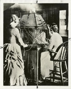telephone operators 1800s