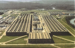 K-25 former uranium enrichment facility Oak Ridge, Tennessee