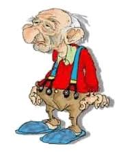 old man cartoon