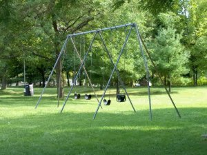 swings in park