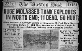 1919 Boston Molasses Disaster
