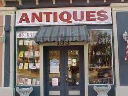 Shopping for antiques