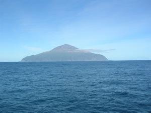 Tristan de Cunha from Sea