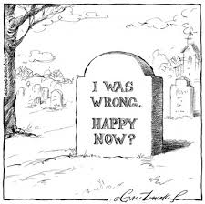 wrong tombstone