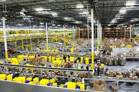Amazon's distribution centers