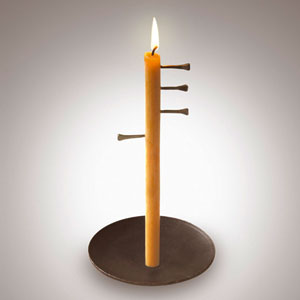 candle clock