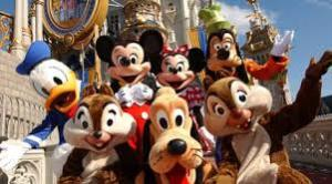 Disney costumed park characters