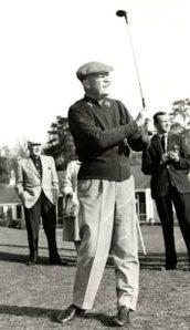 Eisenhower playing golf