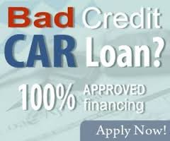 bad credit 100 percent financing