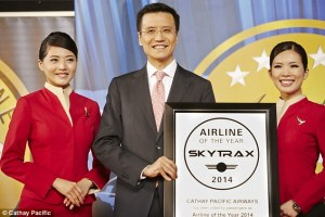 Cathay Pacific World's Best Airline 2014