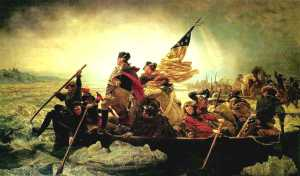 crossing the Delaware River