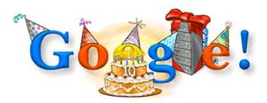 Google's birthday