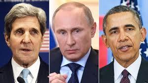 Kerry Putin Obama