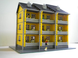 Lego Apartment block