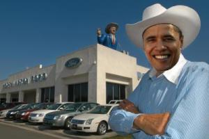 obama used car salesman