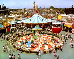 original rides from Disneyland
