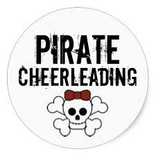 Pirate cheerleaders