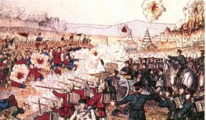 An Lushan rebellion in China