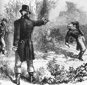 Andrew Jackson duel