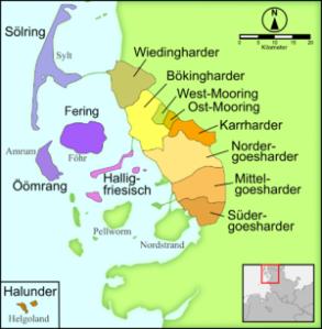 Nord friesische Dialekte