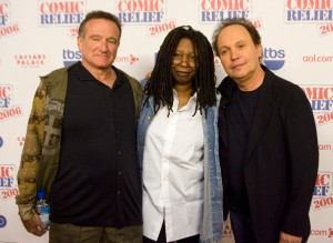 Robin Williams; Whoopi Goldberg; Billy Crystal