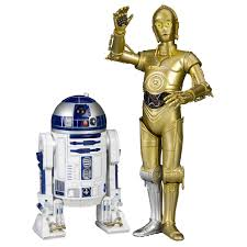 Star Wars robots R2D2 and 3CP0