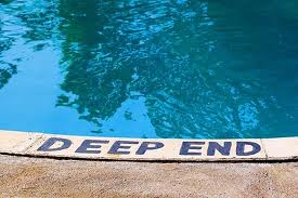 swimming pools deep end