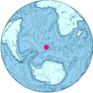Bouvet Island Location