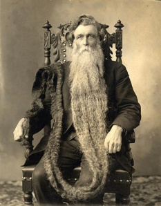 Hans Steininger longest beard
