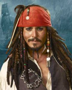 Johnny Depp Capt Jack Sparrow