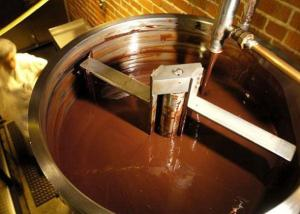 machine-made chocolate