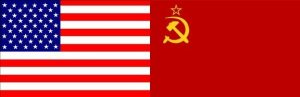 USA-and-USSR-Flag