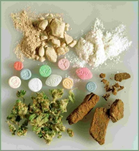 a variety of drugs