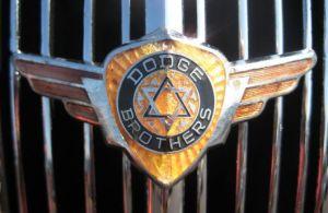 first Dodge emblem