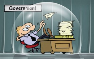incompetent government bureaucrat