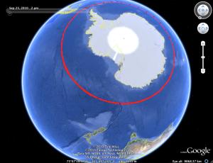 latitude 60 degrees south