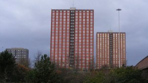 Salford_tower_blocks window washer Chris Saggers