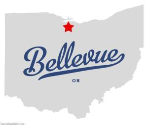 map_of_bellevue_oh
