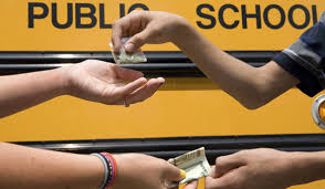 selling drugs in schools