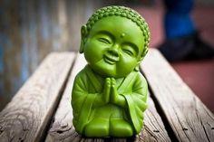 tiny model of buddha