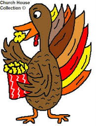 turkey eating popcorn cartoon