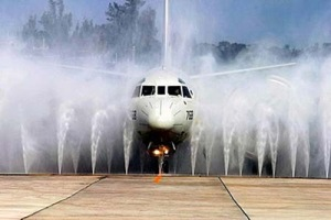 airplane washing