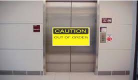 broken elevator