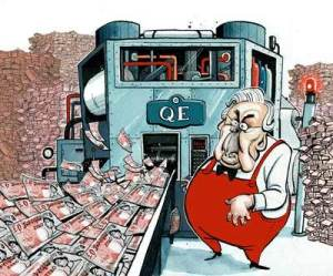 Quantitative Easing cartoon