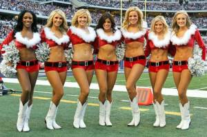 Santa's naughty girls
