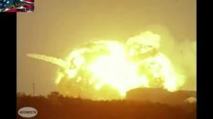 Atlas Centaur 5 explosion