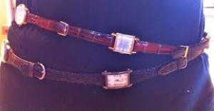 belt made of watches