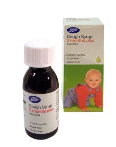 Boot's children's cough medicine