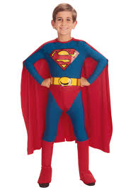child sized Superman costume
