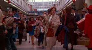 Home alone movie Parisian Airport scene shot at O'Hare International